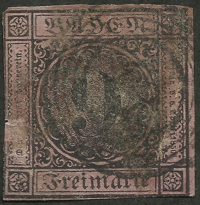 Baden #4 (1851)