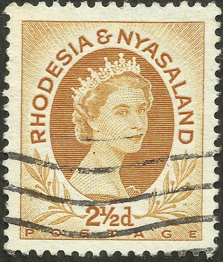 Rhodesia & Nyasaland #143B (1956)