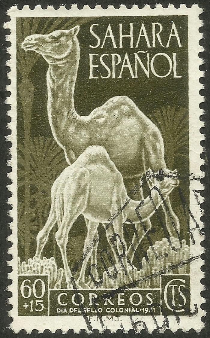 Spanish Sahara #B18 (1951)