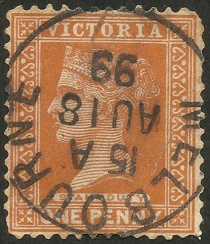 Victoria #169 (1890)