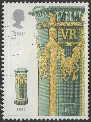 National Stamp Collecting Month: The Pillar Box