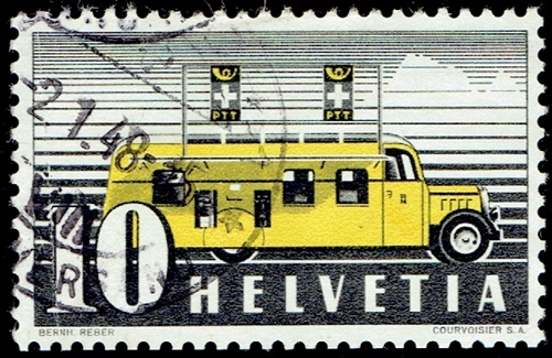 National Stamp Collecting Month: The Swiss Post Bus System
